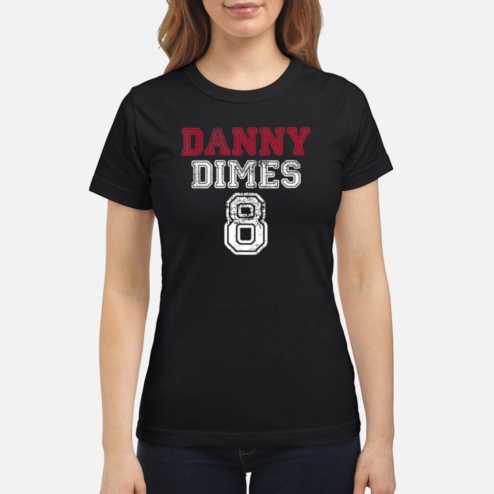 New York NY Shine QB 8 Football Apparel Danny Dimes Shirt ladies tee