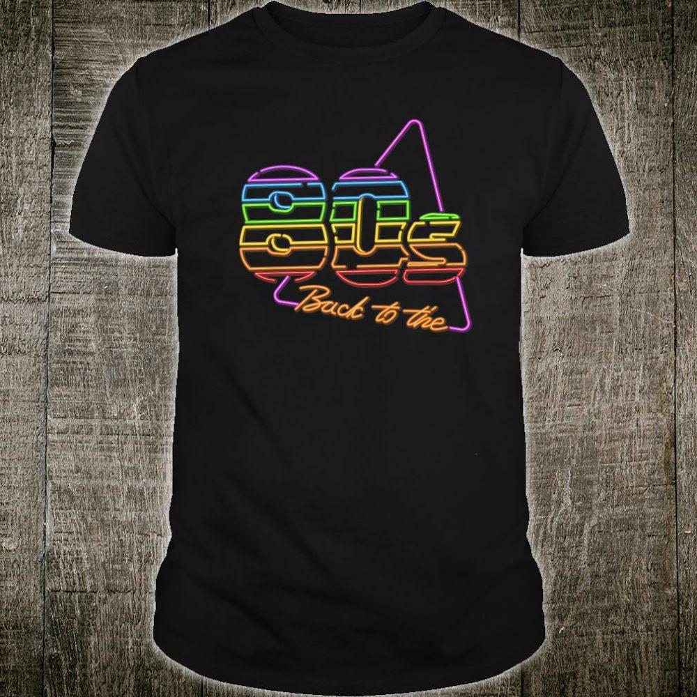 Nostalgic 80s Retro 1980s Party Birthday Shirt