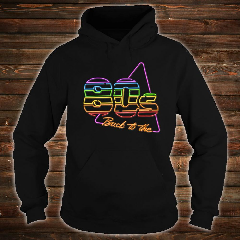 Nostalgic 80s Retro 1980s Party Birthday Shirt hoodie