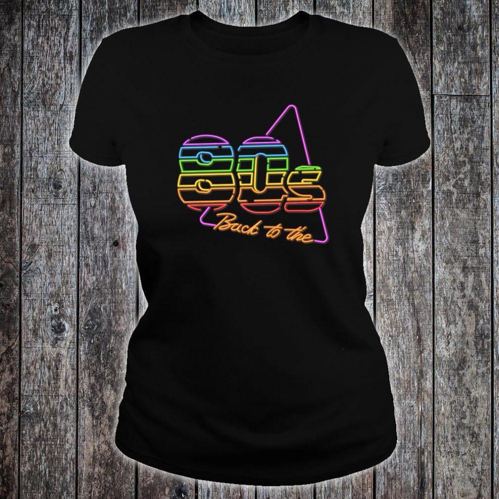 Nostalgic 80s Retro 1980s Party Birthday Shirt ladies tee