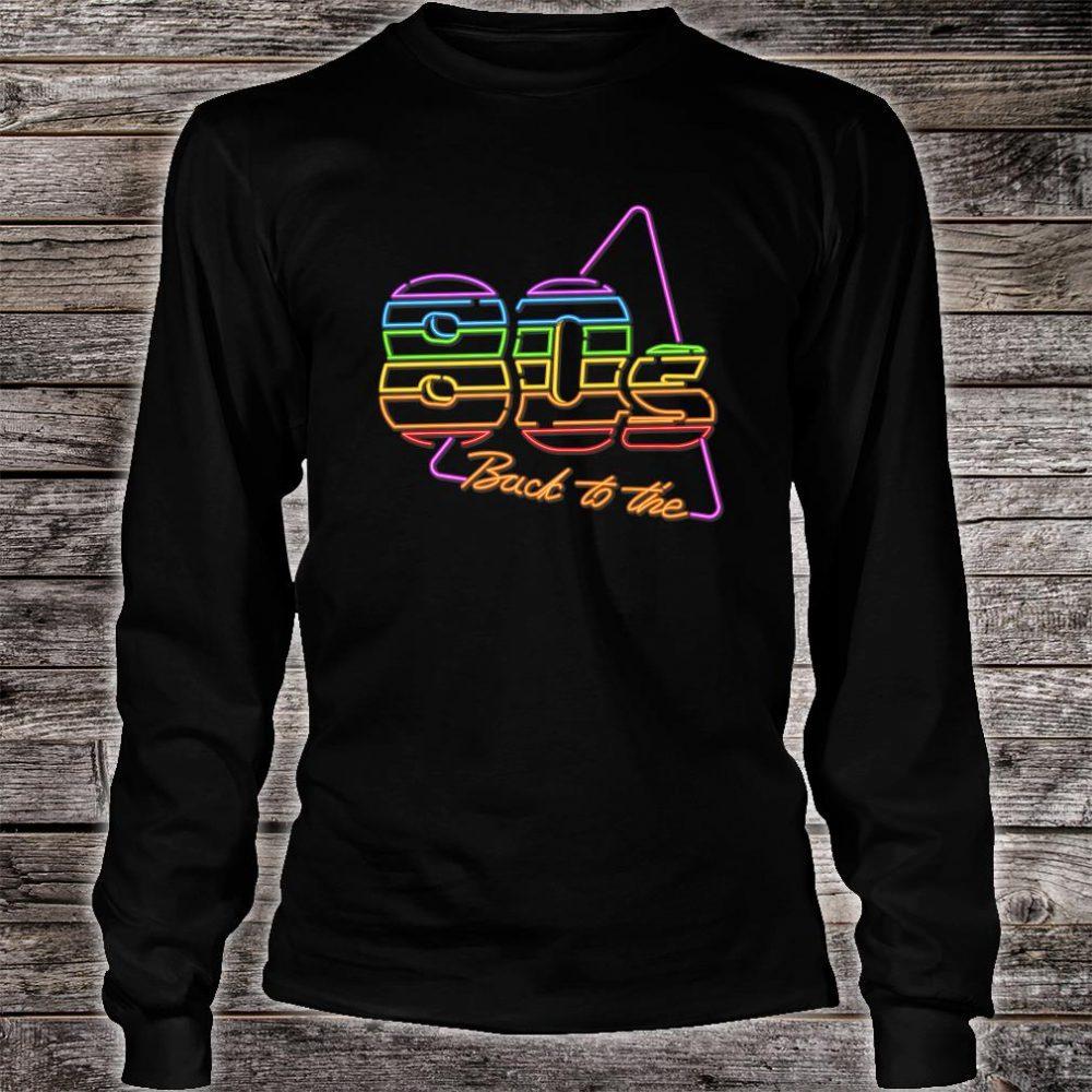 Nostalgic 80s Retro 1980s Party Birthday Shirt long sleeved