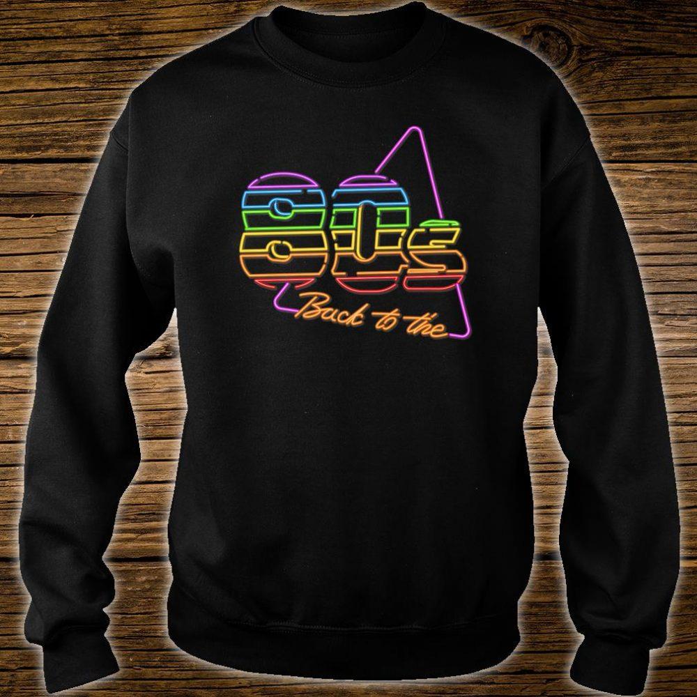 Nostalgic 80s Retro 1980s Party Birthday Shirt sweater