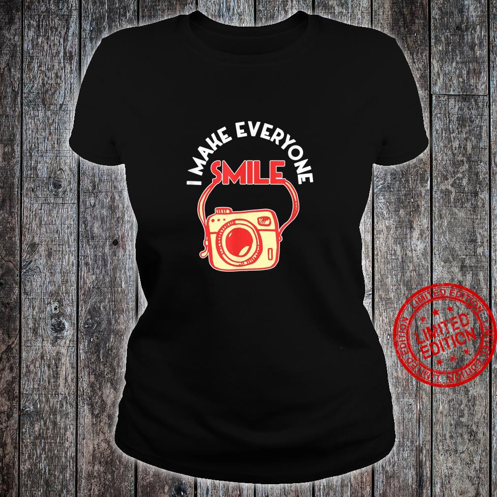 Photography Day Camera Photographer Shirt ladies tee