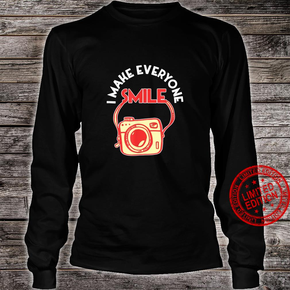Photography Day Camera Photographer Shirt long sleeved
