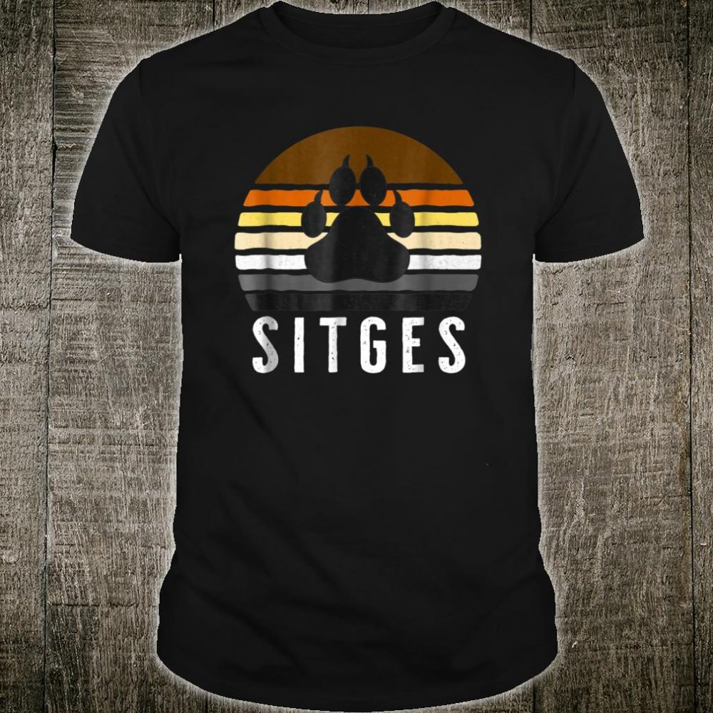 Sitges Gay Bear Pride Vintage Shirt