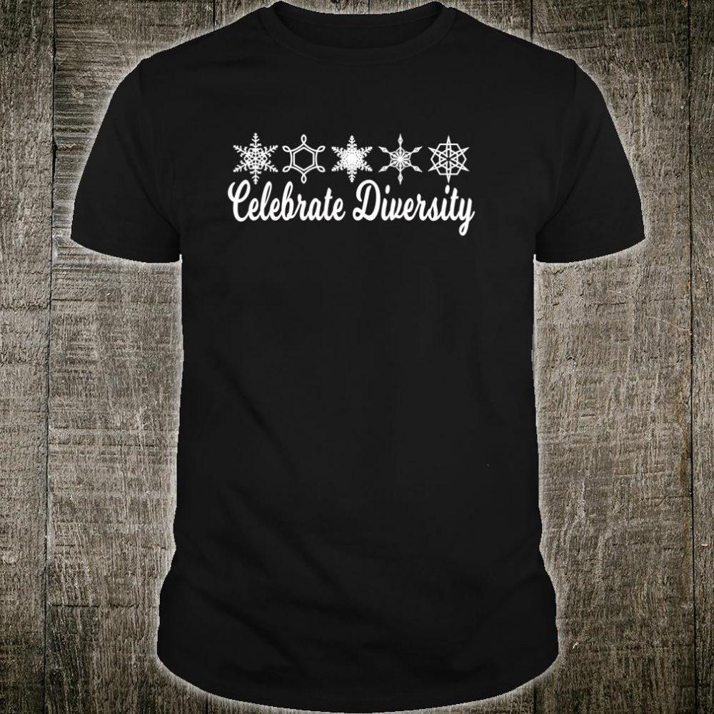 Snowflake Celebrate Diversity Shirt