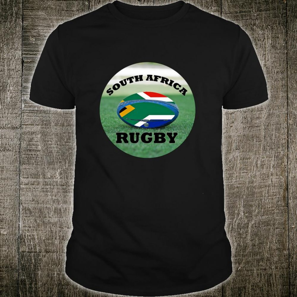South Africa Rugby Bokke Fan Shirt