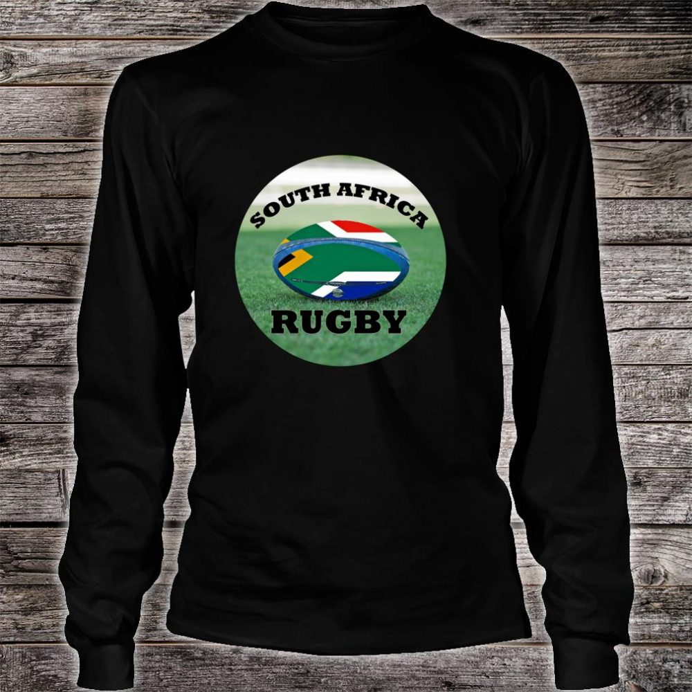 South Africa Rugby Bokke Fan Shirt long sleeved
