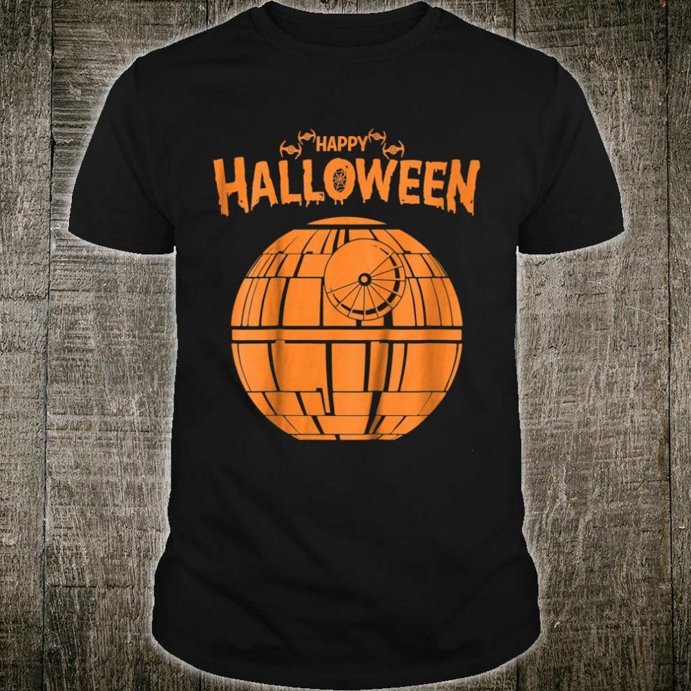 Star Wars Death Star Happy Halloween Shirt