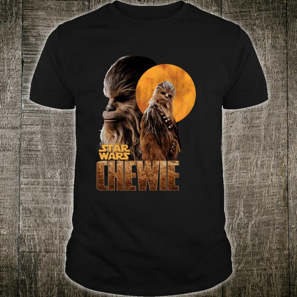 Star Wars Han Solo Movie Chewie Introduction Shirt