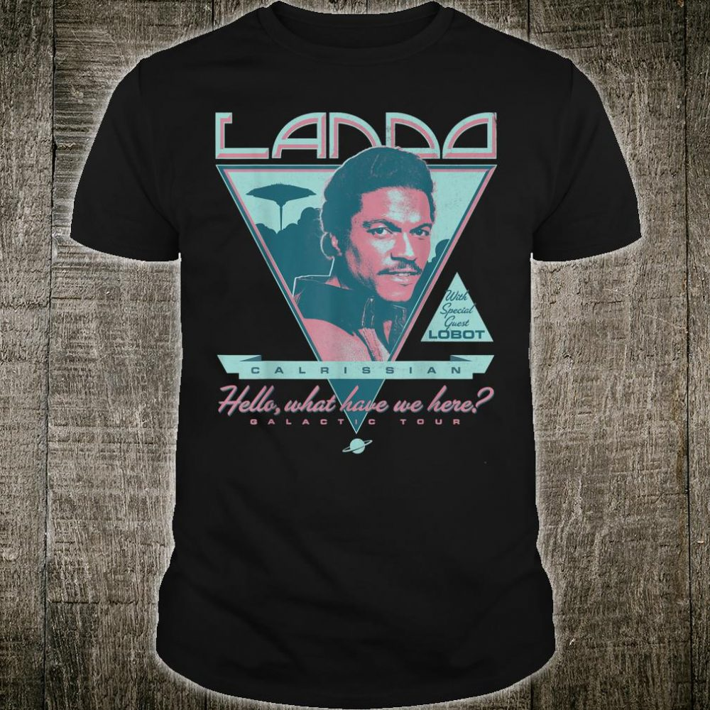 Star Wars Lando's Galactic Tour Shirt