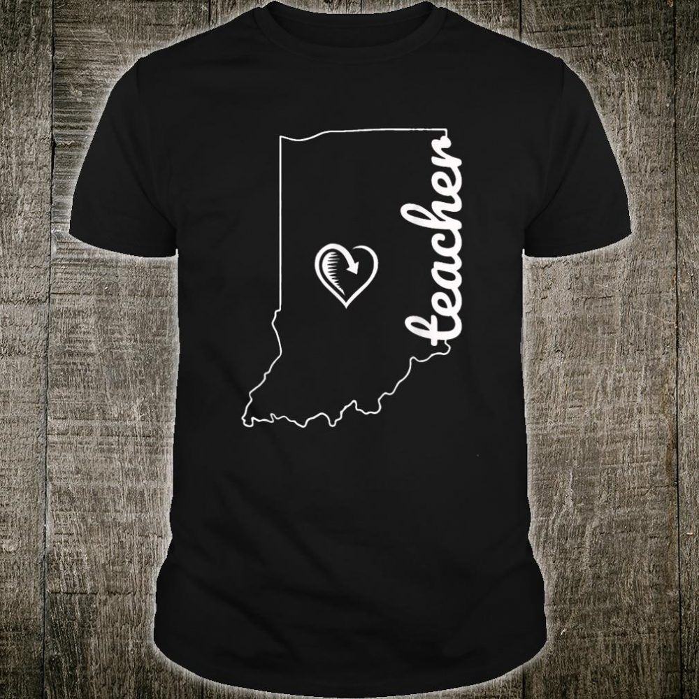 Teacher Red For Ed Indiana Public Education Shirt