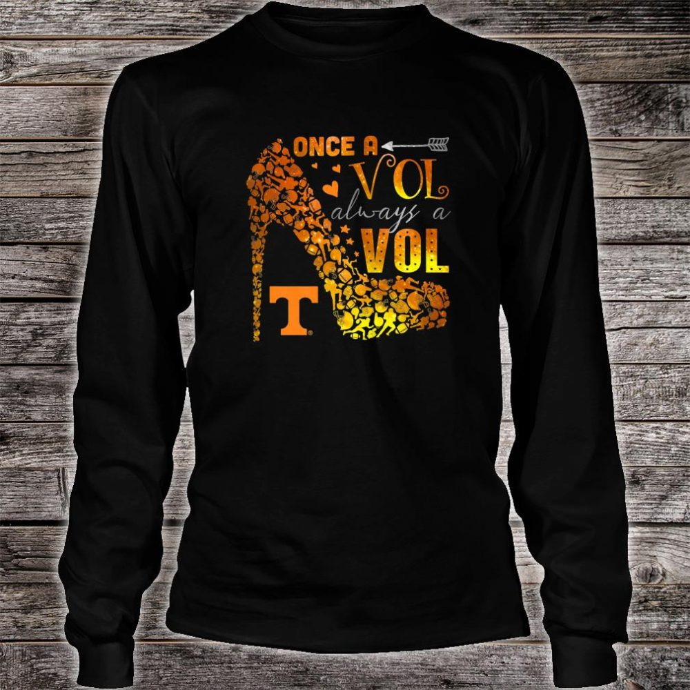 Tennessee Volunrs Once, Always Apparel Shirt long sleeved