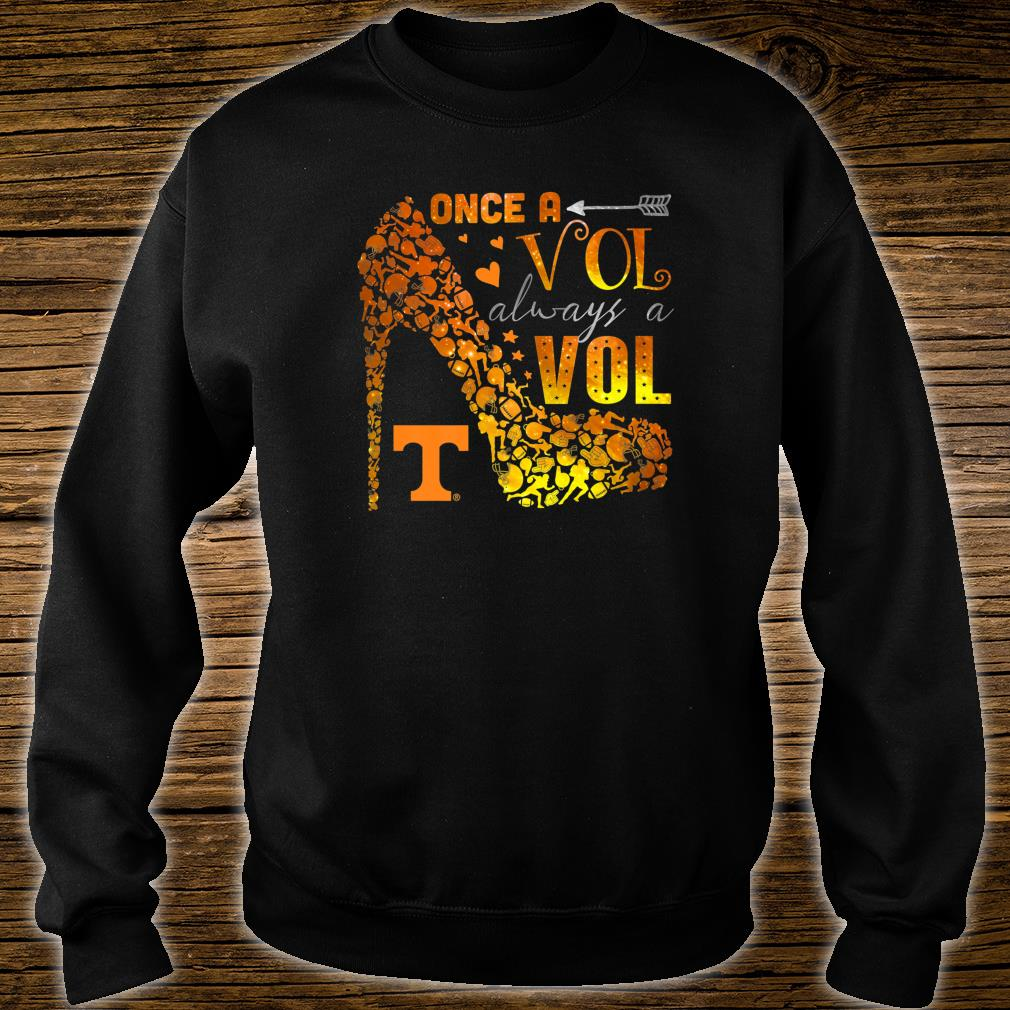 Tennessee Volunrs Once, Always Apparel Shirt sweater