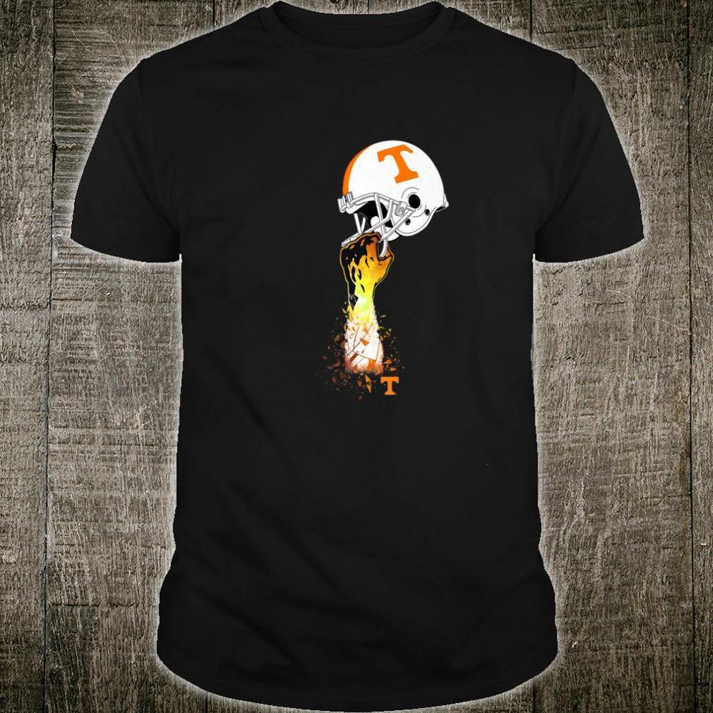 Tennessee Volunteers Football Helmet Shirt Apparel Shirt