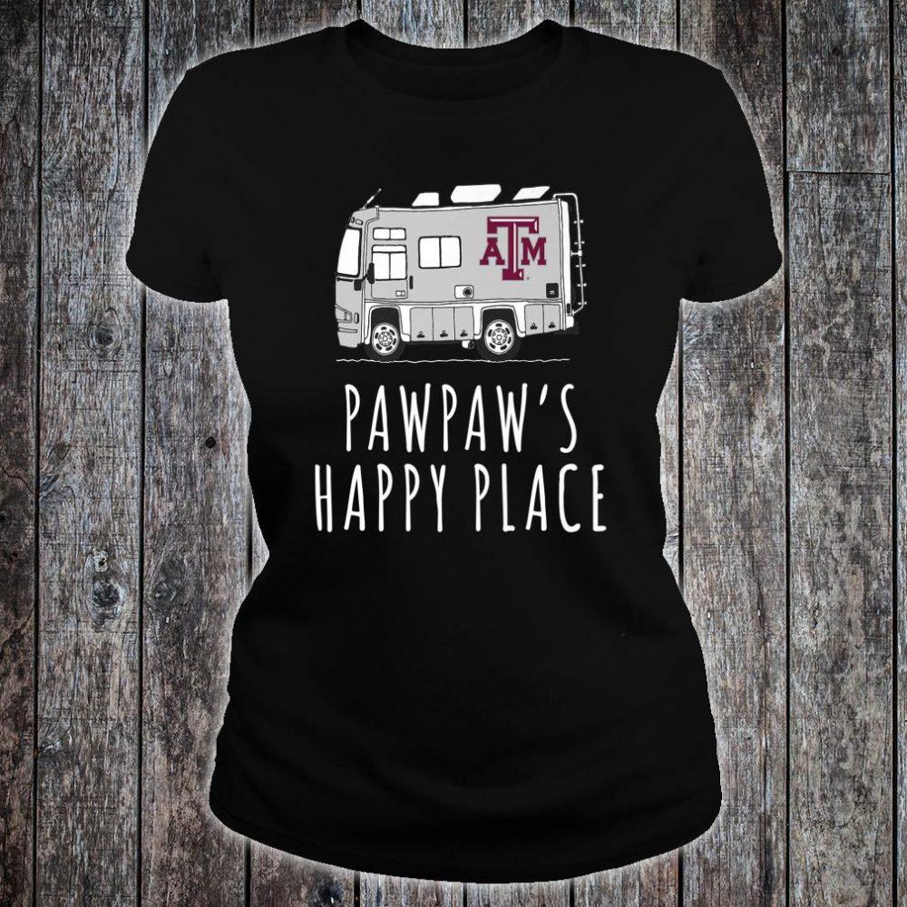 Texas A&M Aggies They Call Me Pawpaw Print Shirt ladies tee