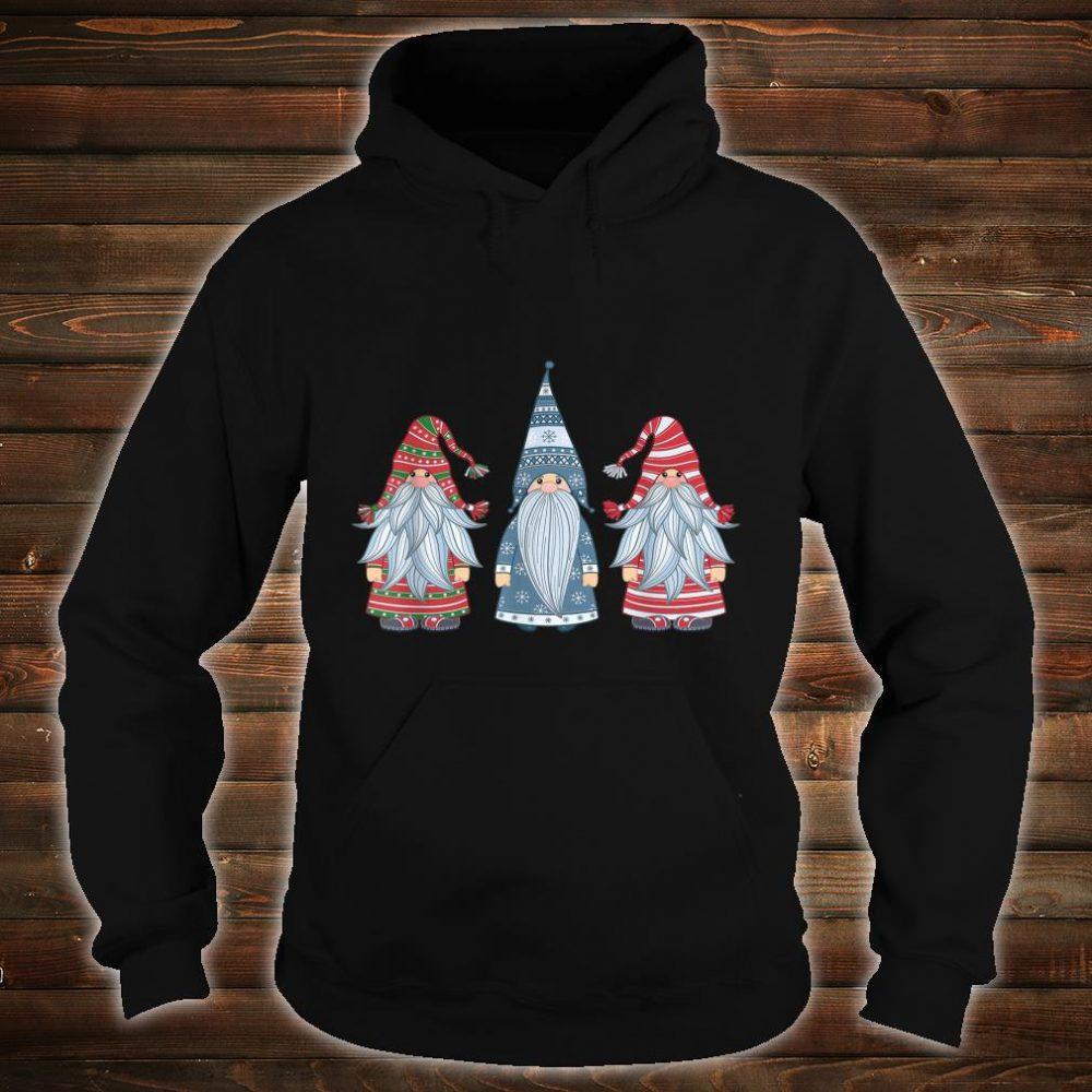 Three Nordic Gnomes Costume Christmas Xmas Shirt hoodie