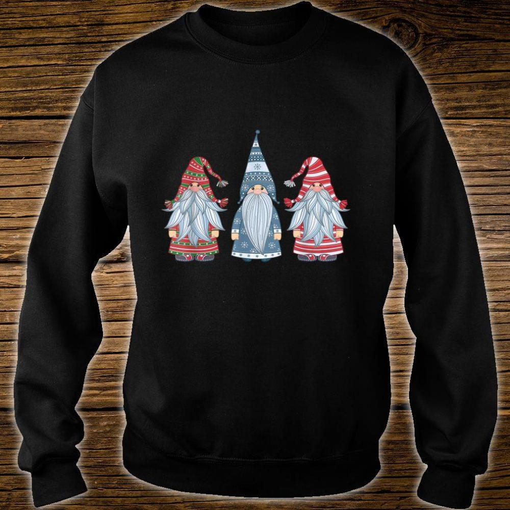 Three Nordic Gnomes Costume Christmas Xmas Shirt sweater