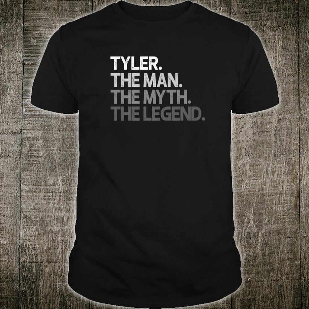 Tyler The Man Myth Legend Shirt