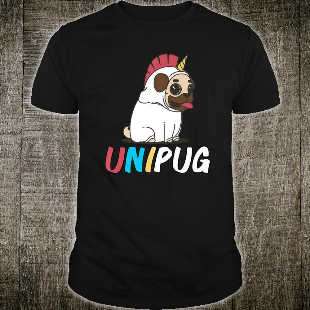 UNIPUG Unicorn Pugs Design Pugs and Stuff Shirt