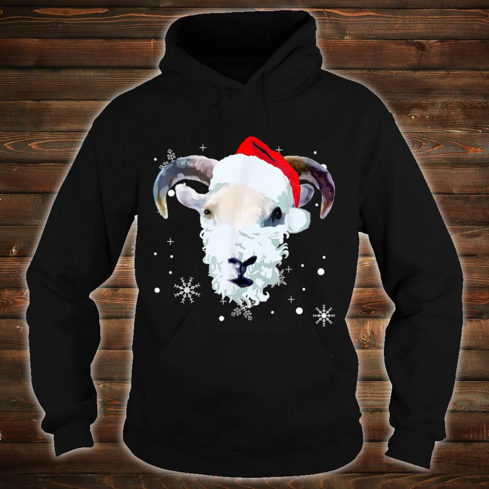 Ugly Xmas goat Owner Christmas Shirt hoodie