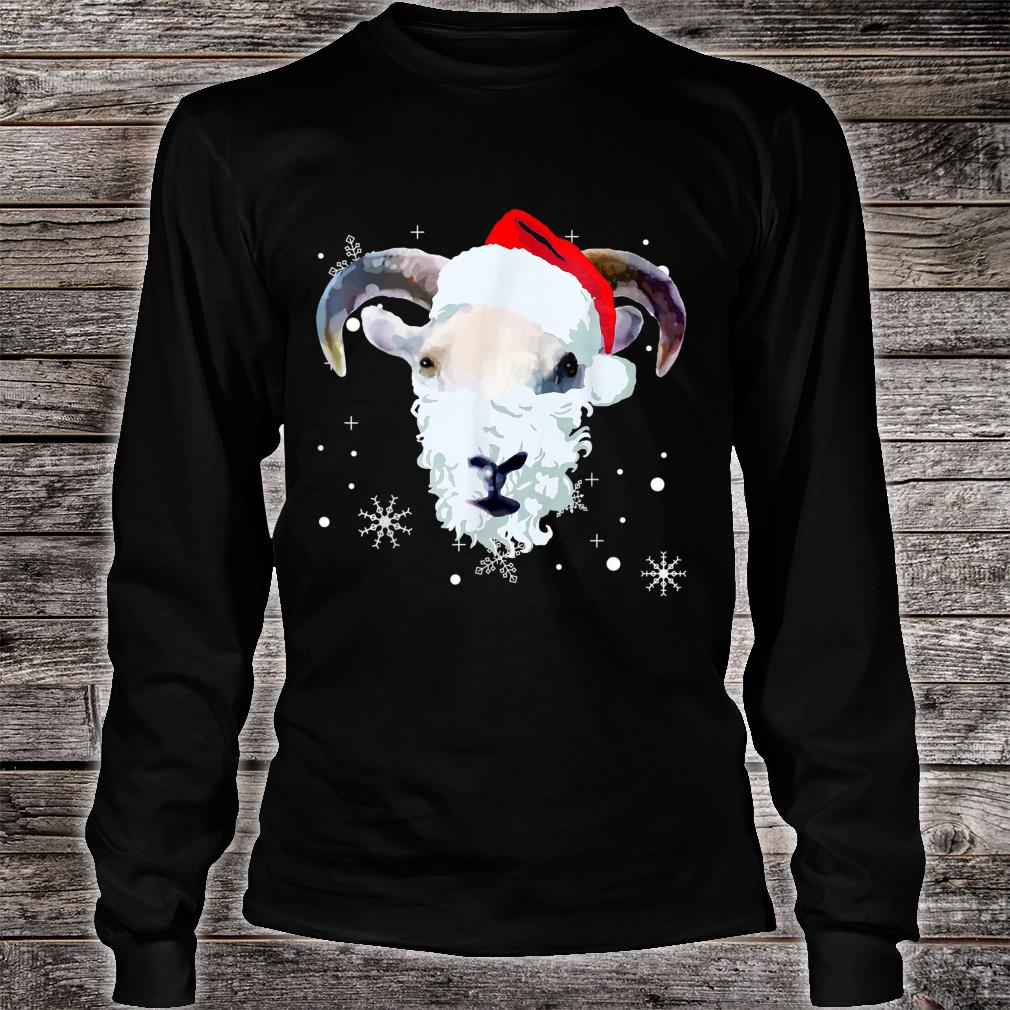 Ugly Xmas goat Owner Christmas Shirt long sleeved