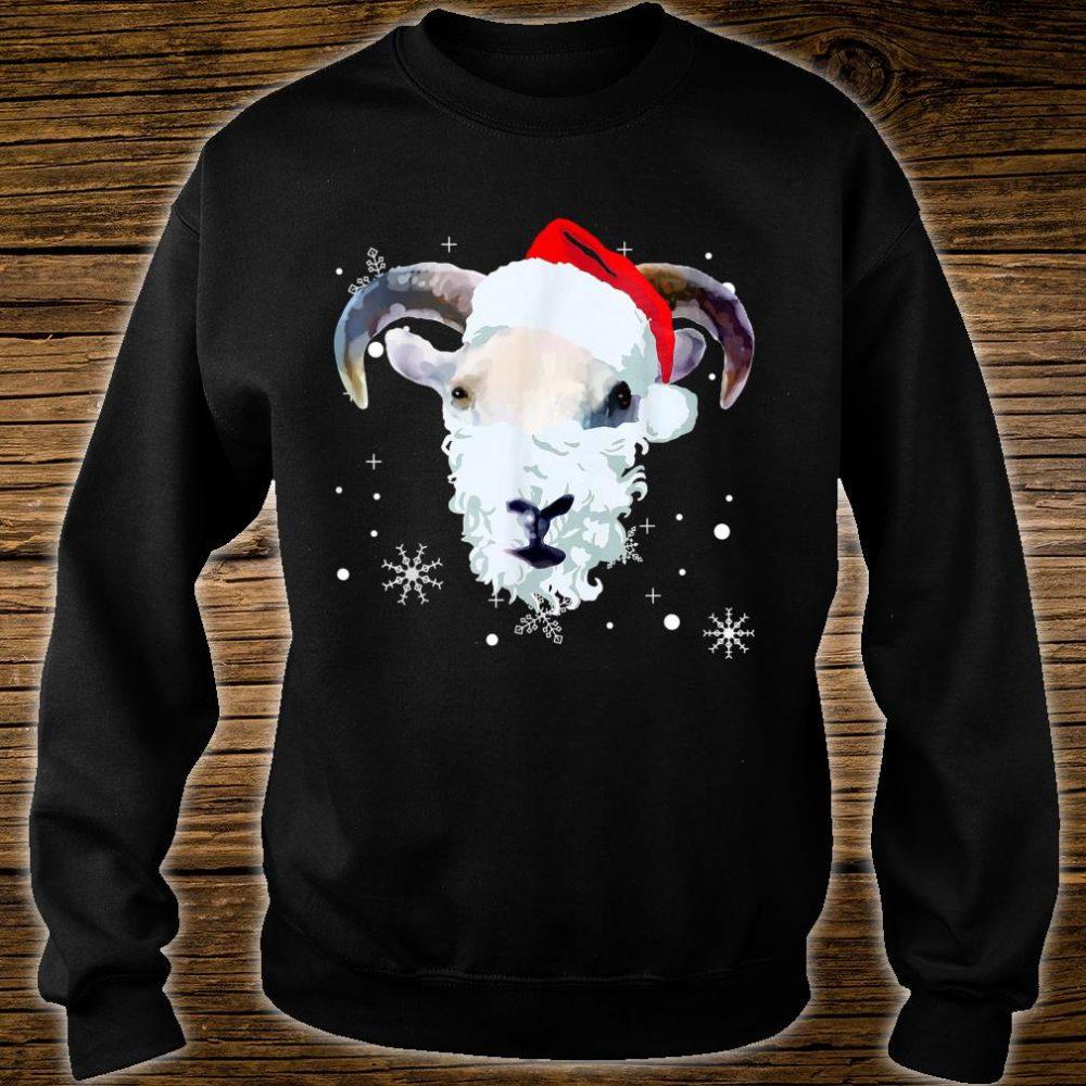 Ugly Xmas goat Owner Christmas Shirt sweater