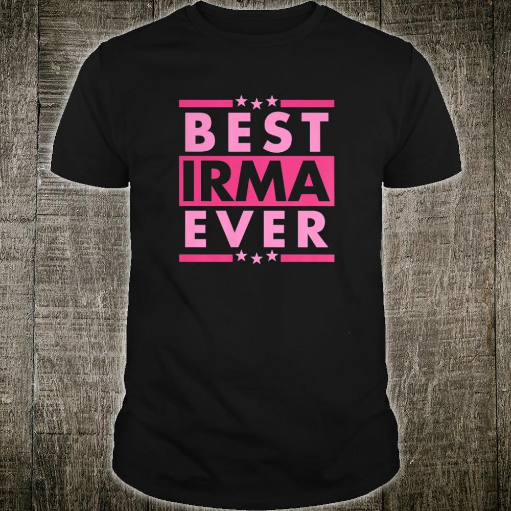 Vintage Best IRMA Ever, World's greatest IRMA Shirt