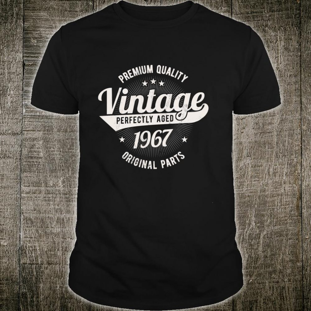 Vintage Est 1967 Classic 53 Years Old 53rd Birthday q6 Shirt
