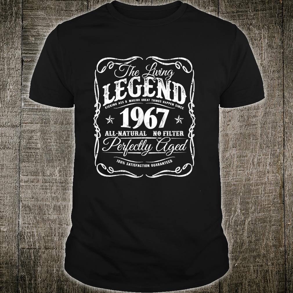 Vintage Legends Are Made In 1967 Classic 53rd Birthday f8 Shirt