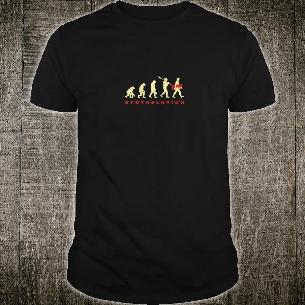 Vintage Synthesizer Evolution Studio Gear Synth DJ Analog Shirt