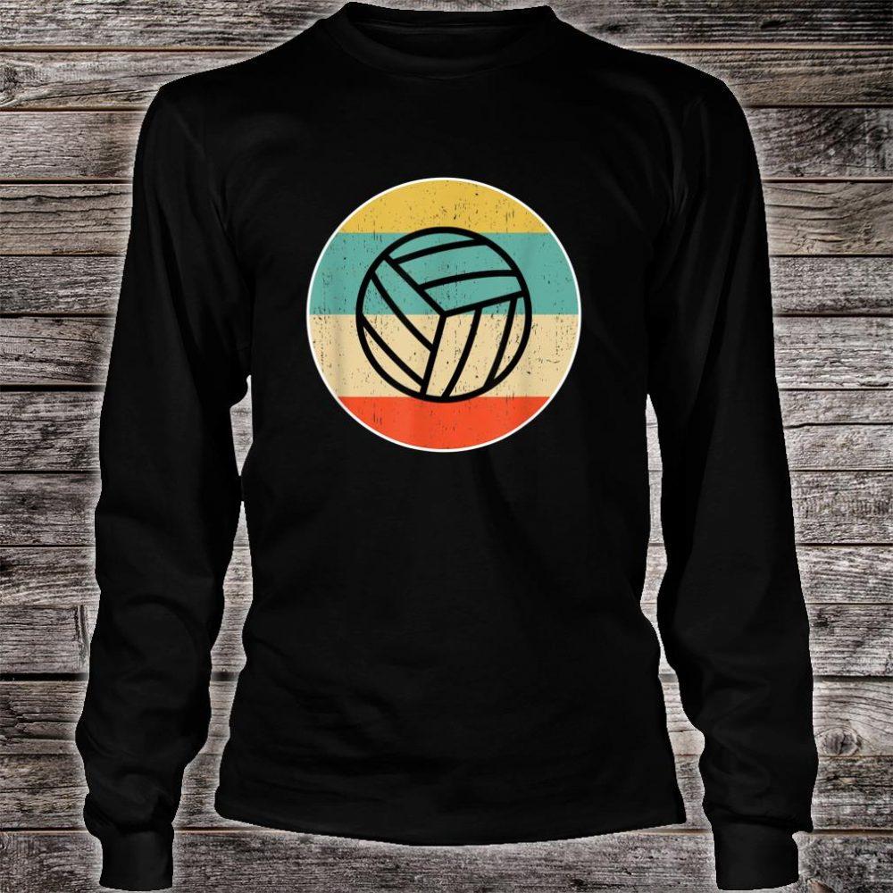 Volleyball Retro Shirt long sleeved