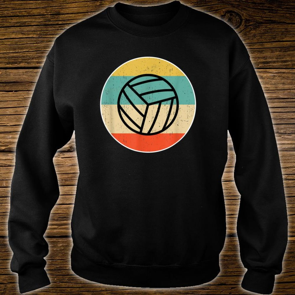Volleyball Retro Shirt sweater