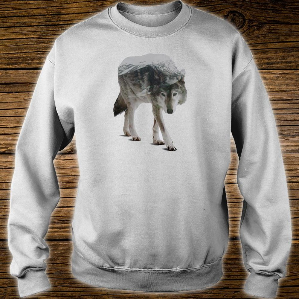 Wolf double seeing shirt sweater