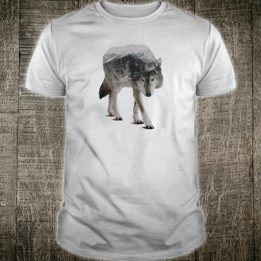 Wolf double seeing shirt