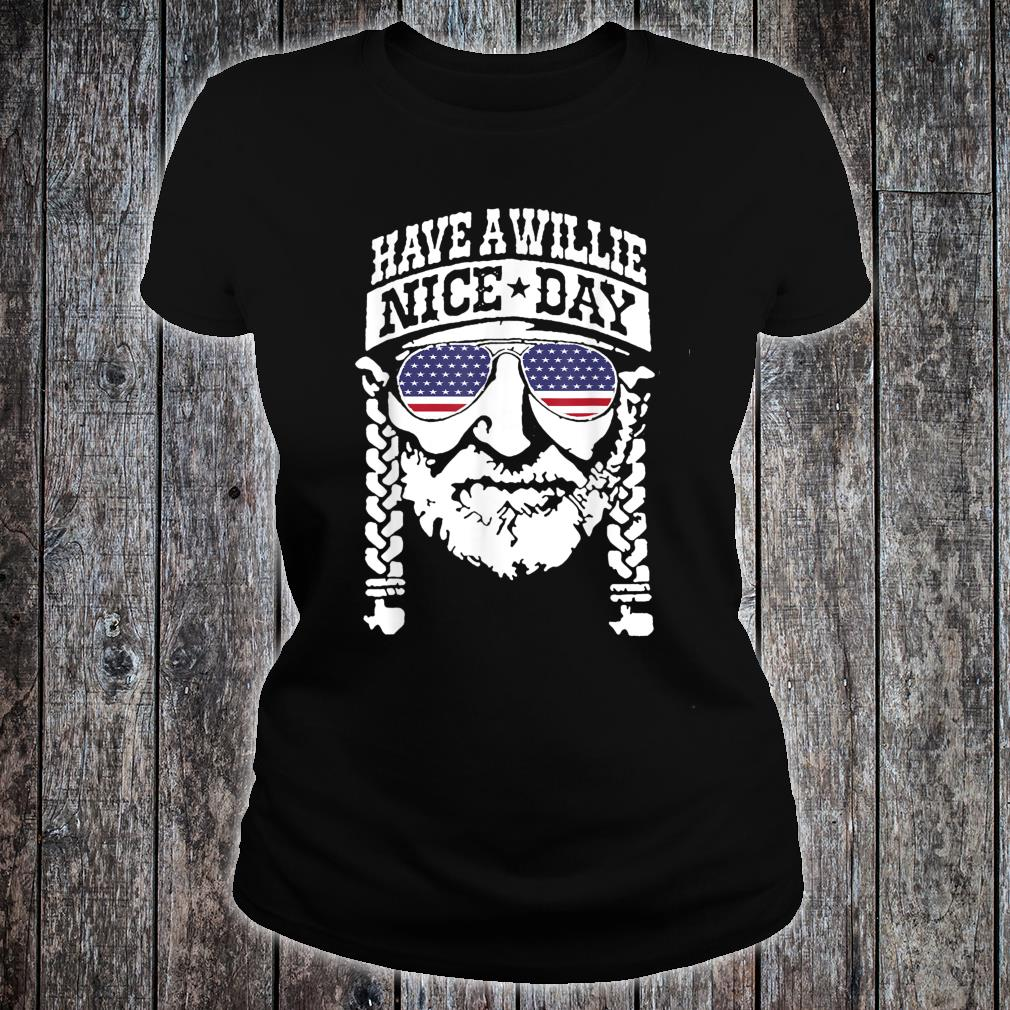 have a will.ie nice day Shirt Vintage summer shirt ladies tee
