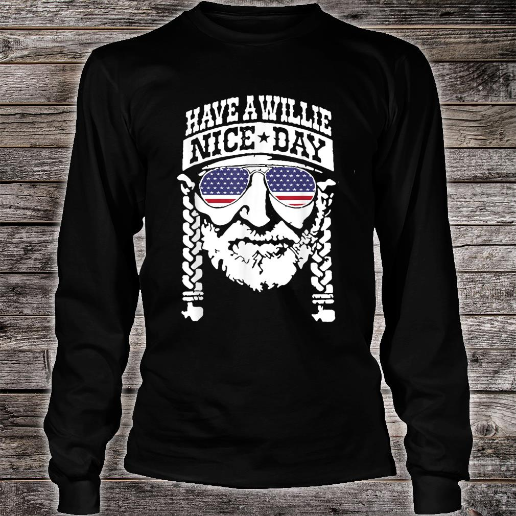 have a will.ie nice day Shirt Vintage summer shirt long sleeved
