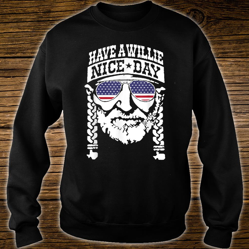 have a will.ie nice day Shirt Vintage summer shirt sweater